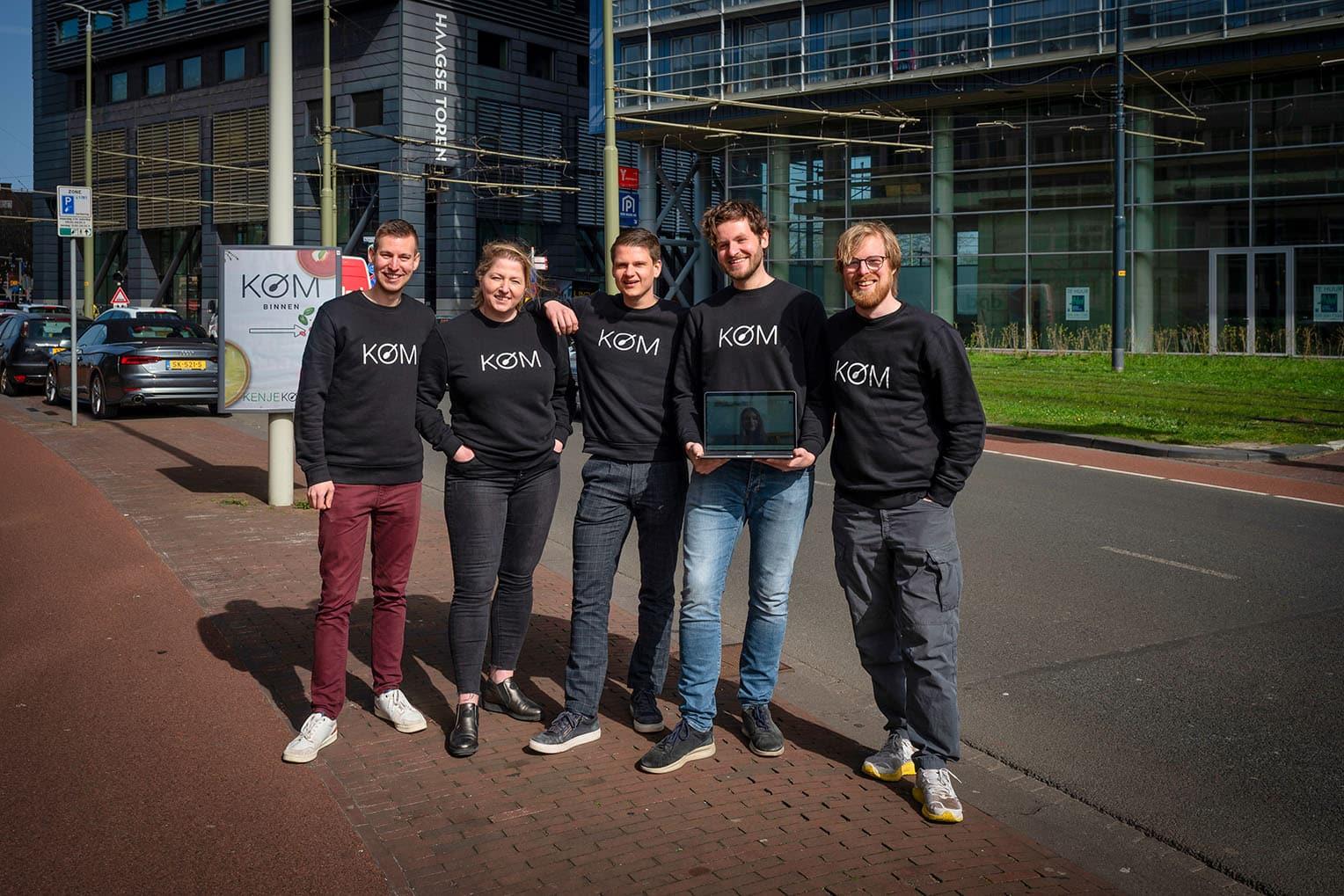 KOM Den Haag team
